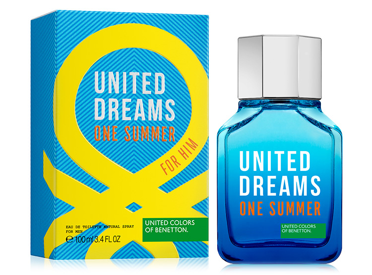 United Colors Of Benetton United Dream One Summer Blue Edt 100ml For